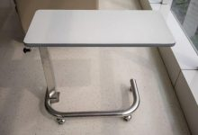 Photo of Features of a Quality Overbed Table for Bed Rest