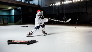 Photo of Training Tips for Hockey at Home on Synthetic Ice