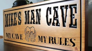 Photo of How Personalized Signs Boost The Character and Appeal Of A Man Cave