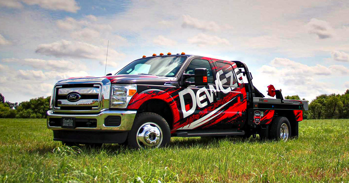 Benefits of a Custom Decal Over Repainting Your Ford - Bundle of the week